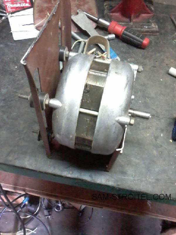 самоделка из двигателя стиральной машины