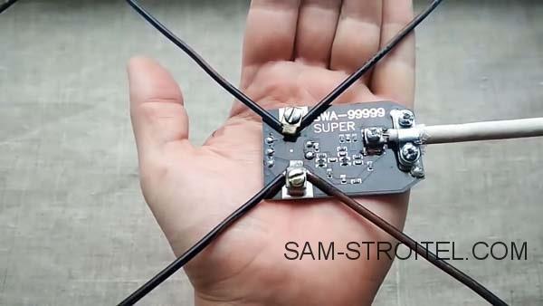 Самодельная антенна для цифрового ТВ