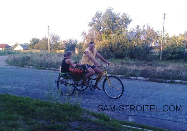 велотрайк своими руками