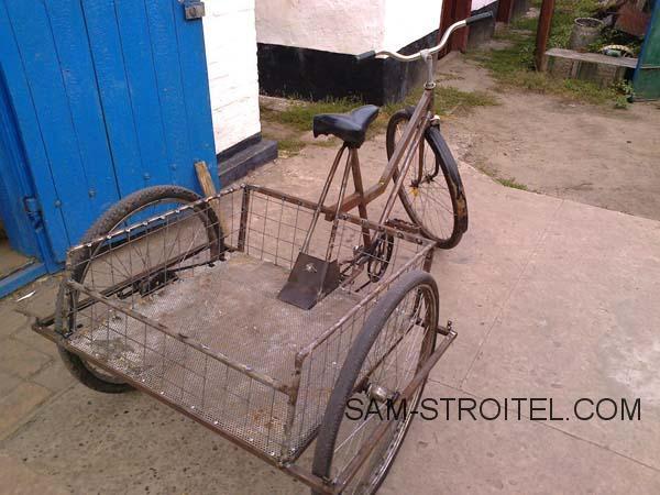 трёхколёсный велосипед