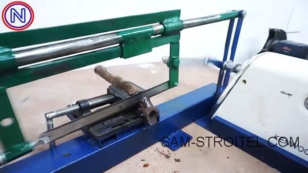 ножовочный станок по металлу