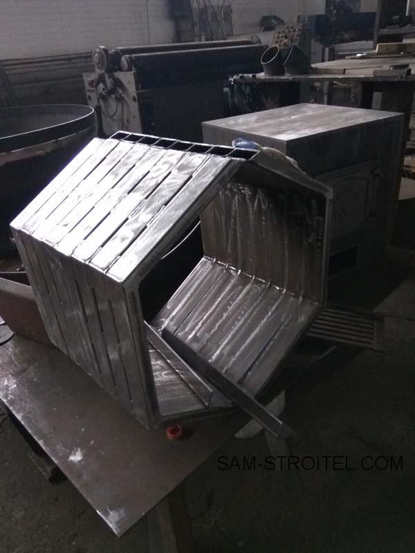 печь из металла своими руками