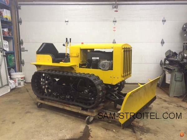 гусеничный мини трактор своими руками