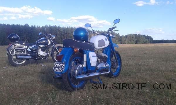 реставрация мотоцикла Иж Юпитер