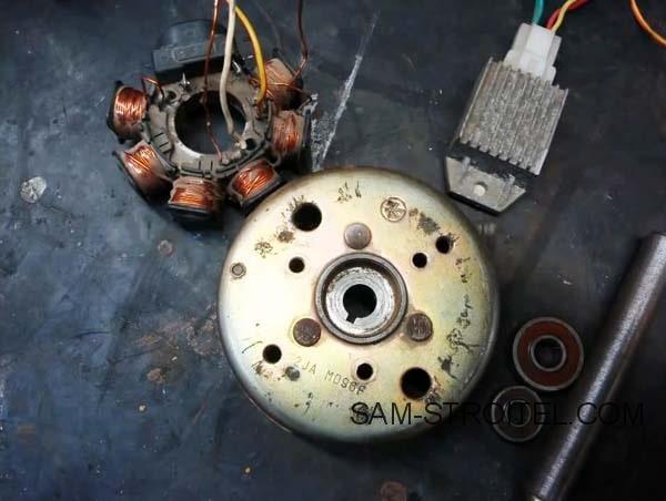 Самодельный генератор 12 вольт