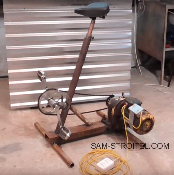 вело генератор самоделка