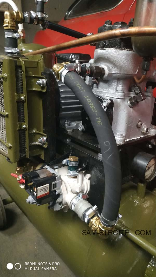 воздушный компрессор самодельный