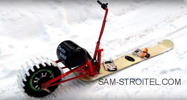 электро сноуборд
