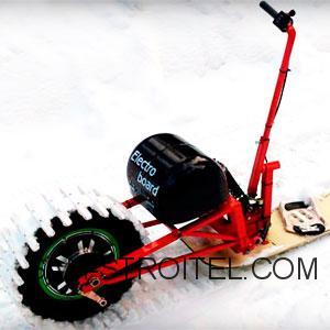 самодельный электро сноуборд