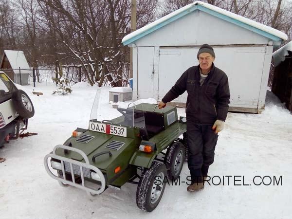 Самодельный мини автомобиль