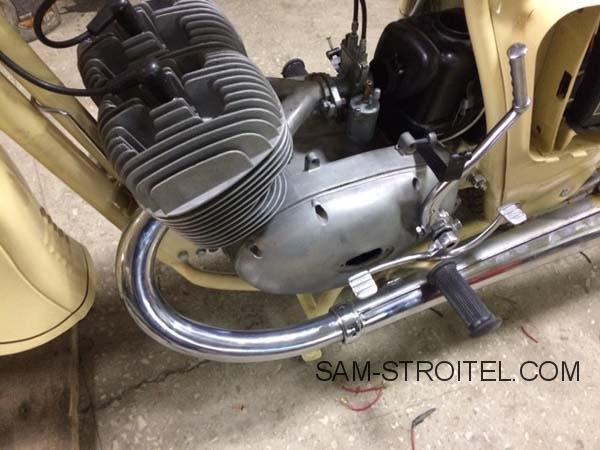 Восстановление мотоцикла Иж Юпитер-2