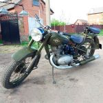 восстановление мотоцикла Иж-49