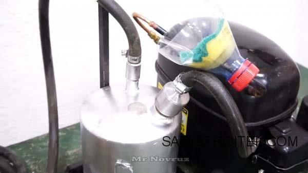 самодельная горелка бензиновая