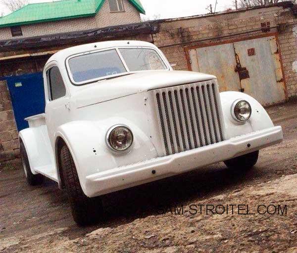 Авто самоделка ГАЗ-51 пикап