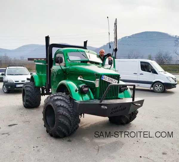 автосамоделка на базе ГАЗ-63