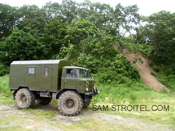 ГАЗ-66 колёса от трактора Т-150