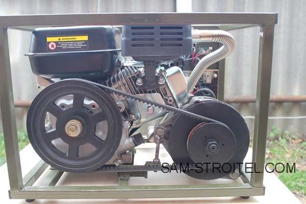 бензиновый генератор электроэнергии