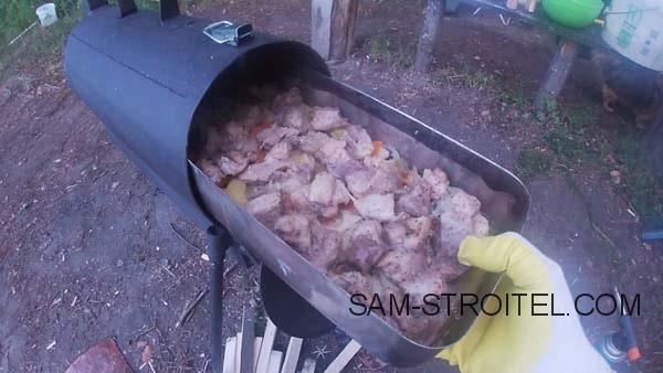 Самодельная печь духовка