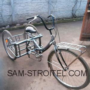 трёхколёсный велосипед взрослый