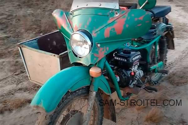 мотоцикл с двигателем Lifan