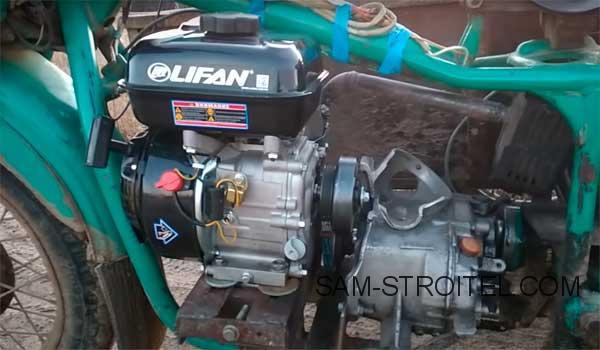двигатель от мотоблока на мотоцикл