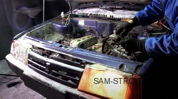 двигатель от мотоблока на ВАЗ
