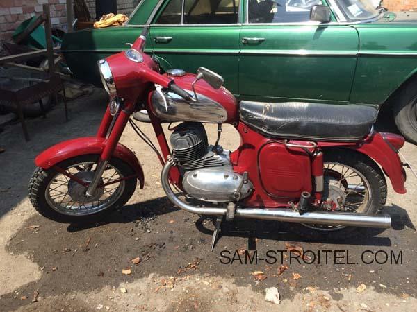 Восстановление мотоцикла Jawa 360