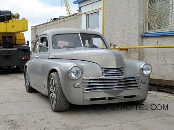 Авто самоделка ГАЗ-20