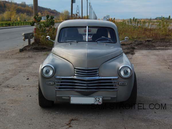 самоделка ГАЗ-20