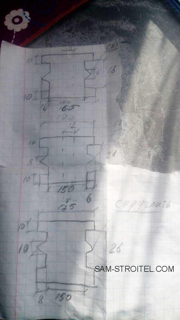 станок для гибки профильной трубы: чертежи