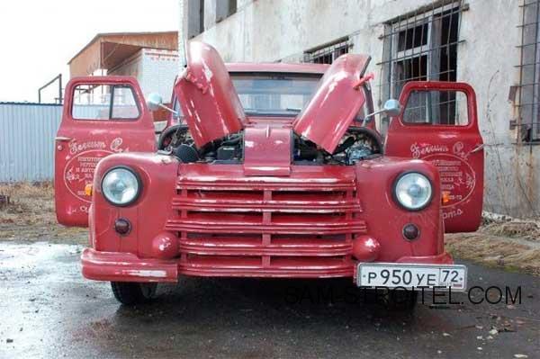 Авто самоделка с кабиной ГАЗ-53