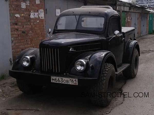 Авто самоделка пикап ГАЗ-69