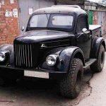 авто самоделка ГАЗ-69