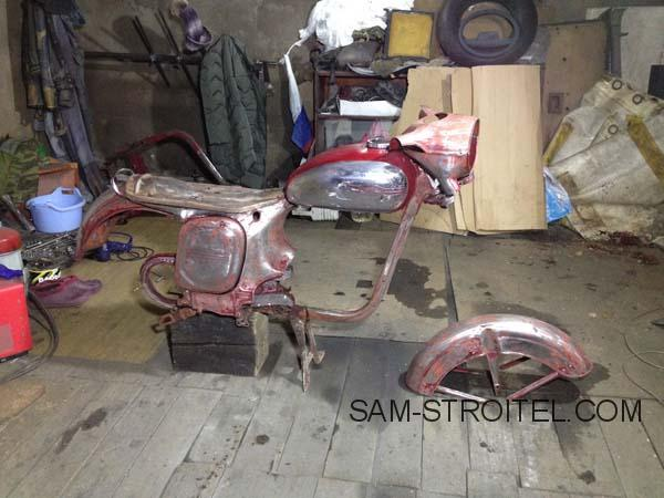 Реставрация мотоцикла Jawa 350/360