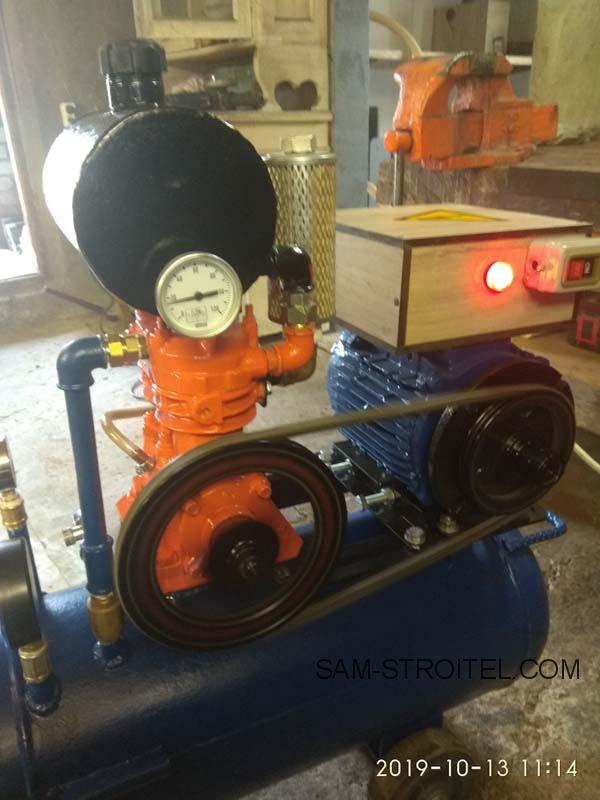 компрессор на базе зил 130