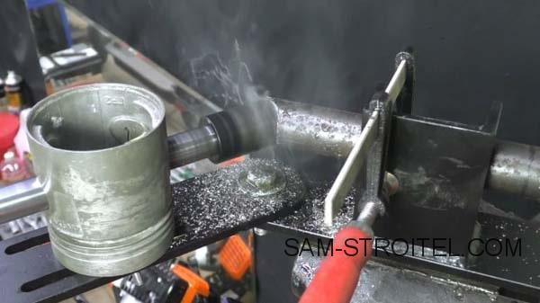 Торцеватель для металлических труб своими руками